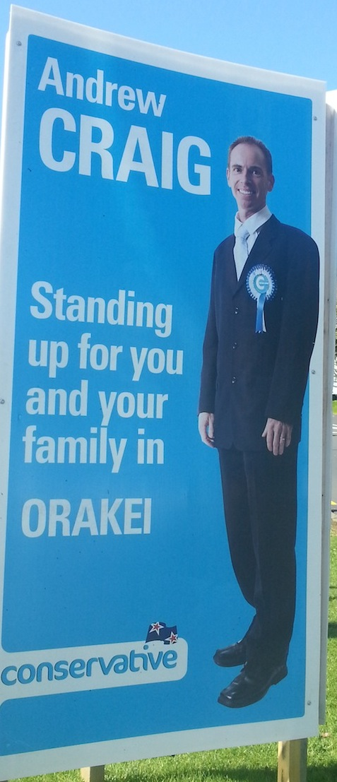 Andrew Craig - Conservative Party - 2013 Local Election