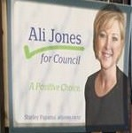 Ali Jones - 2013 Local Election