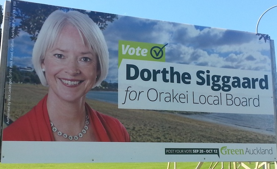 Dorthe Siggaard - Green Party - 2013 Local Election