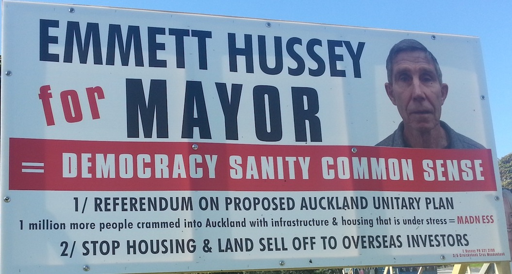 Emmett Hussey - Independent - 2013 Local Election