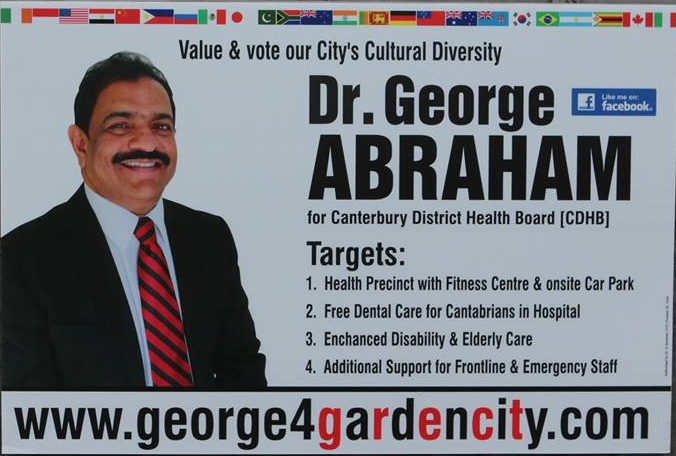 George Abraham - 2013 Local Election
