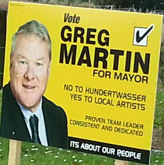 Greg Martin - 2013 Local Election