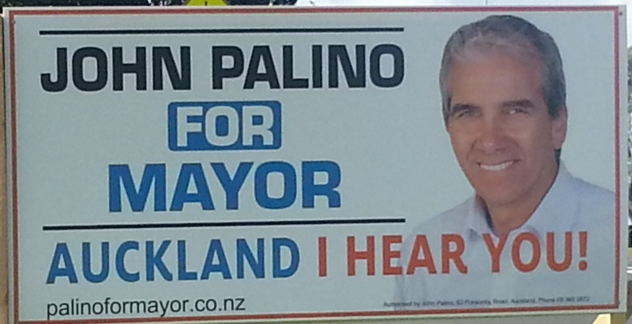 John Palino - Independent - 2013 Local Election