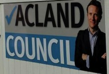 Luke Acland - 2013 Election