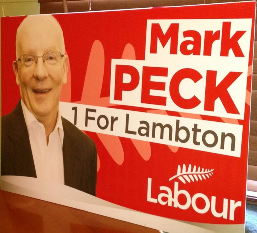 Mark Peck - Labour Party - 2013 Local Election