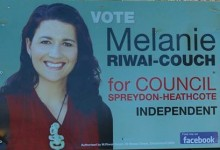 Melanie Riwai-Counch - 2013 Local Election