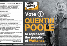 Quentin Poole - 2013 Local Election