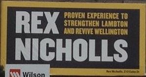 Rex Nicholls - Revive Wellington - 2013 Local Election