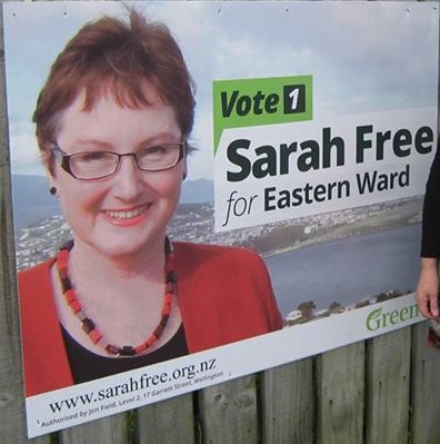 Sarah Free - Green Party - 2013 Local Election