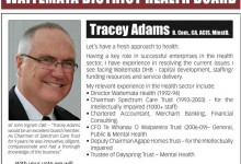 Tracey Adams - Waitemata Communities & Residents - 2013 Local Election