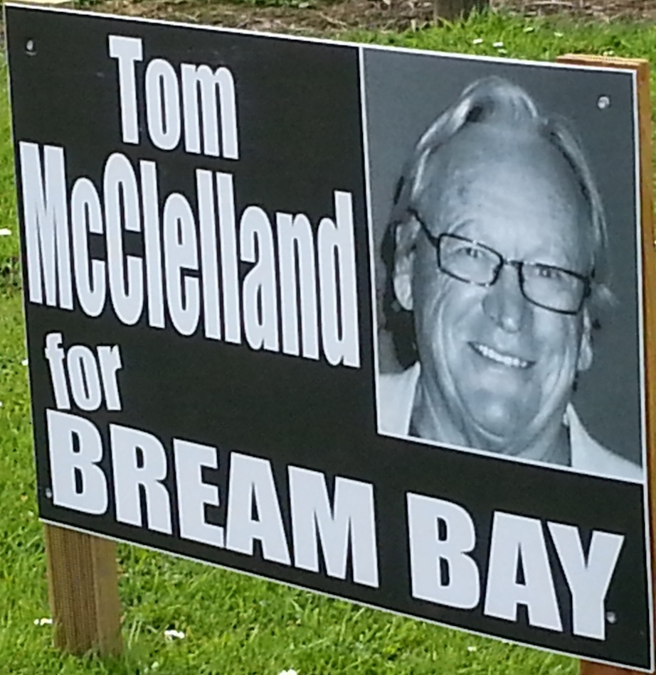 Tom McClelland - 2013 Local Election