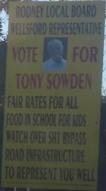 Tony Snowden - Independent - 2013 Local Election