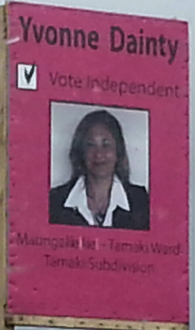 Yvonne Dainty - 2013 Local Election