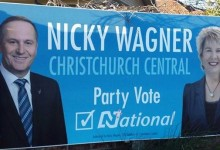 Nicky Wagner - National Party - 2014 General Election