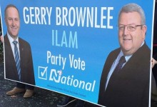 Gerry Brownlee - National Party - 2014 General Election