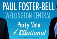 Paul Foster-Bell - National Party - 2014 General Election