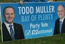 Todd Muller - National Party - 2014 General Election