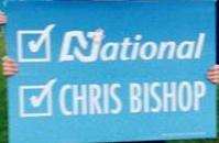 Chris Bishop - National Party - 2014 General Election