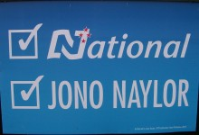 Jono Naylor - National Party - 2014 General Election
