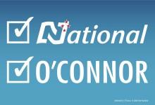 Simon O'Connor - National Party - 2014 General Election