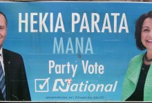 Hekia Parata - National Party - 2014 General Election
