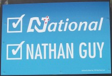 Nathan Guy - National Party - 2014 General Election