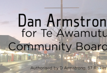 Dan Armstrong - 2016 Local Elections