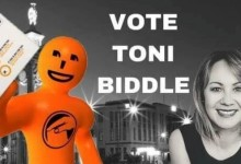 Toni Biddle - 2016 Local Body Elections
