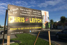 Chris Leitch - 2016 Local Elections