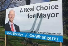 David Blackley - Go-Whangarei - 2016 Local Elections