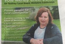 Wendy Crow-Jones - 2016 Local Elections