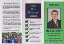 Max Shierlaw - 2016 Local Elections