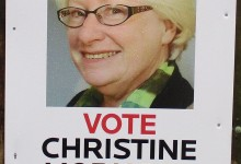 Christine Moriarty - 2016 Local Elections