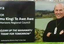 Wiremu Kingi Te Awe Awe - 2016 Local Elections