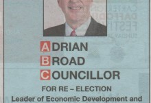 Adrian Broad - 2016 Local Elections