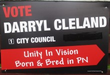 Darryl Cleland - 2016 Local Elections