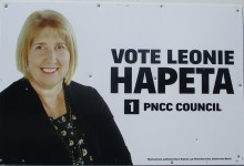 Leonie Hapeta - 2016 Local Elections