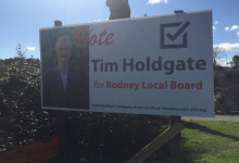 Tim Holdgate - 2016 Local Elections