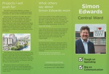 Simon Edwards - 2016 Local Elections