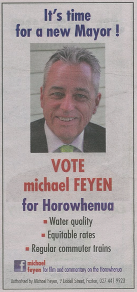 Michael Feyen - 2016 Local Elections
