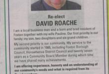 David Roache - 2016 Local Elections