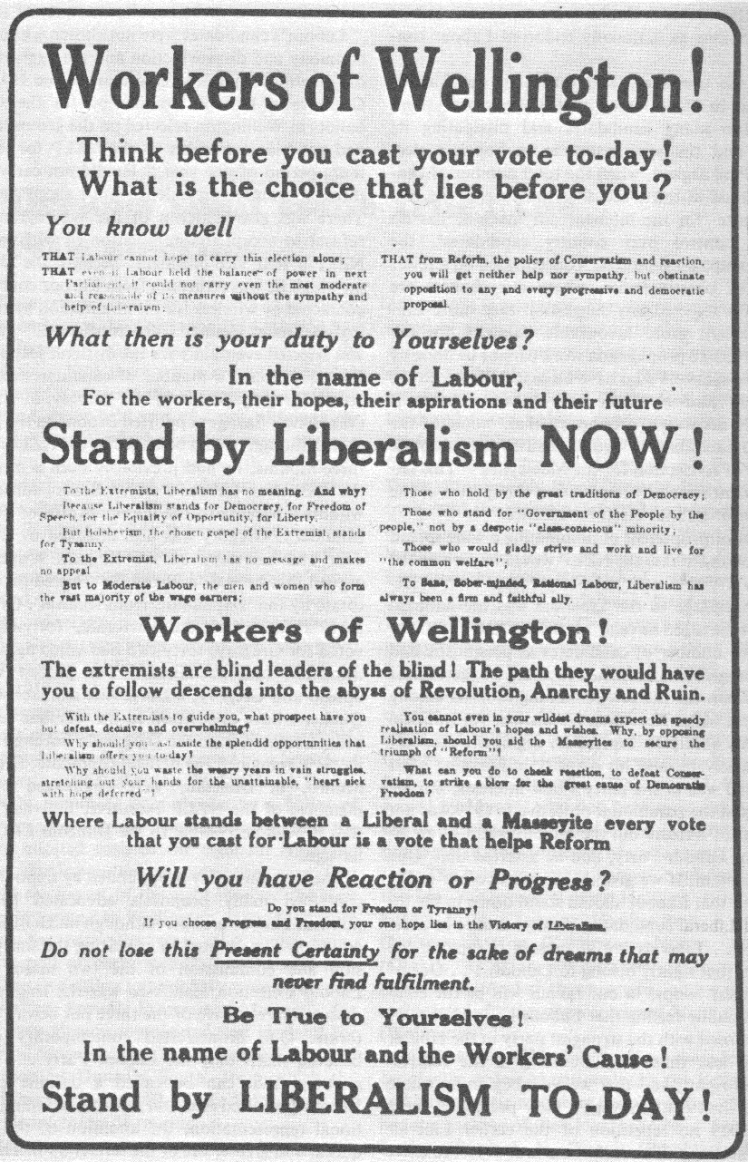 Liberal Party - 1919 General Election