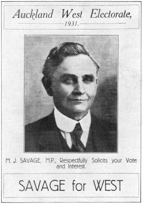 Michael Joseph Savage - Labour Party - 1931 General Election