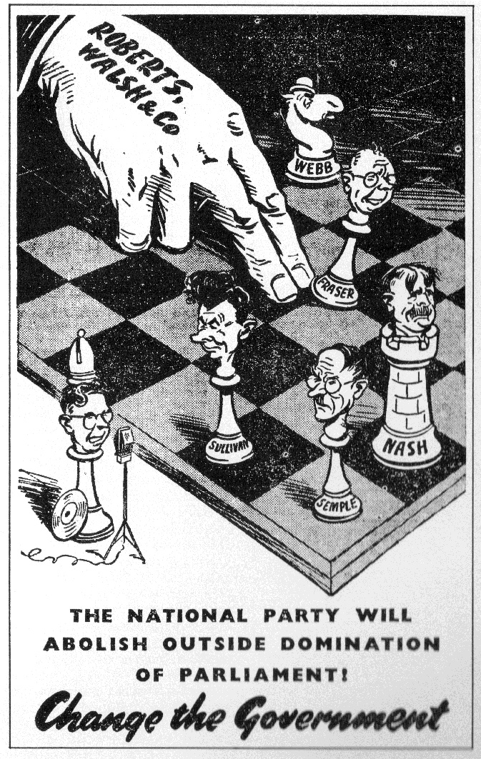 National Party - 1938 General Election
