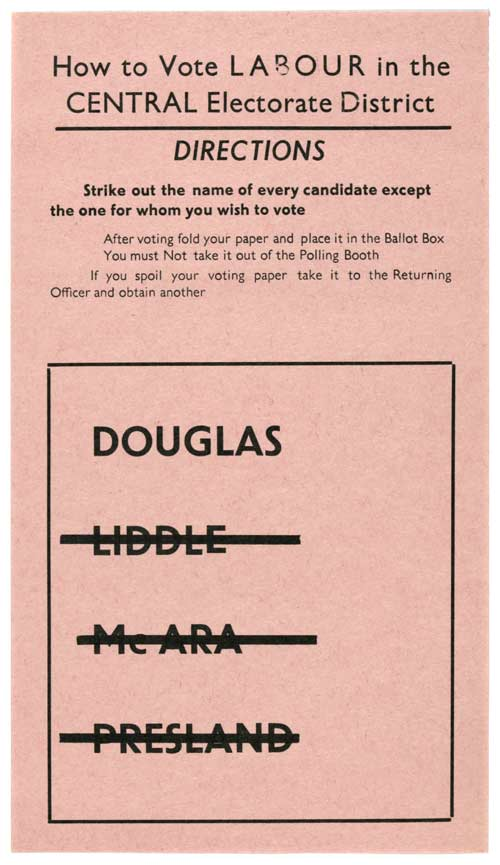 Norman Douglas - Labour Party - 1960 General Election