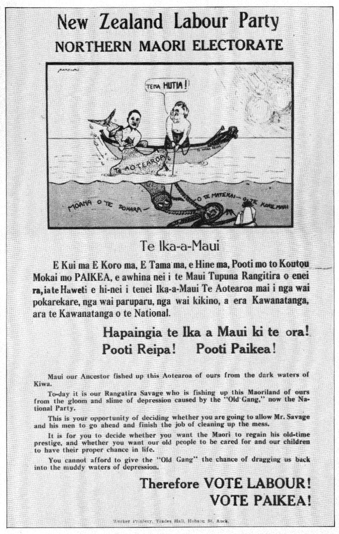 Paraire Karaka Paikea - Labour Party - 1938 General Election