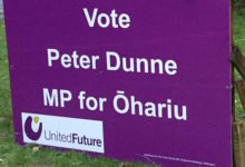 Peter Dunne - United Future - 2017 General Election