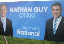 Nathan Guy - National Party - 2017 General Election