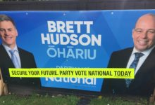 Brett Hudson - National Party - 2017 General Election