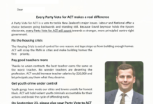 ACT Party - 2017 General Election